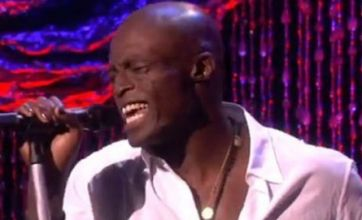 Seal sings Let's Stay Together after admitting he'll always love Heidi Klum