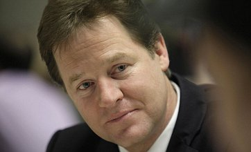 Nick Clegg calls on George Osborne to raise tax threshold for families