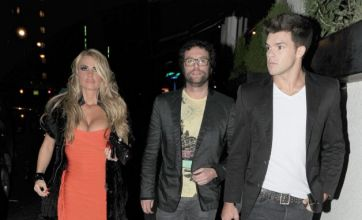 Katie Price reunites with ex Leandro Penna for night out with her brother