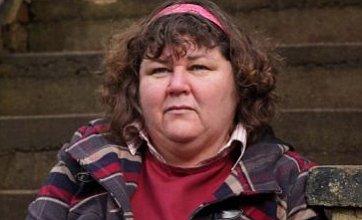 Male stunt double replaces Cheryl Fergison in Heather Trott death scenes