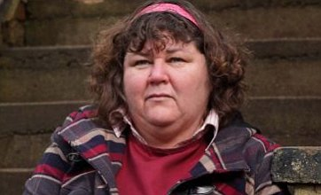 Male stunt double replaces Cheryl Fergison in Heather Trott death scenes