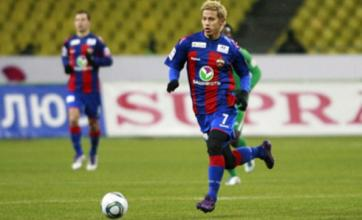 Keisuke Honda would cost Manchester United more than £9m