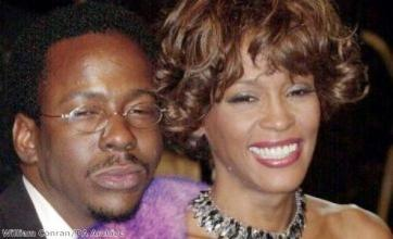 Bobby Brown sobs on stage following Whitney Houston's death