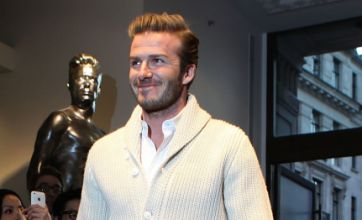 David Beckham: I've come this far without any lucky pants