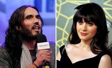 Russell Brand 'sending flirty texts to Katy Perry lookalike Zooey Deschanel'