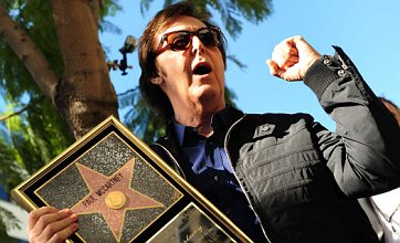 Paul McCartney finally gets star on Hollywood Walk of Fame