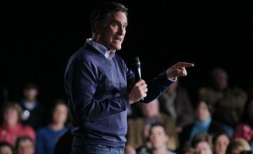 Mitt Romney remains in front of rivals after winning vote in Maine