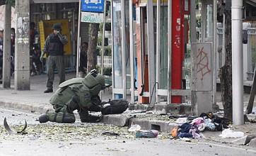 Iranian terrorist blows off own leg after grenade rebounds in Bangkok