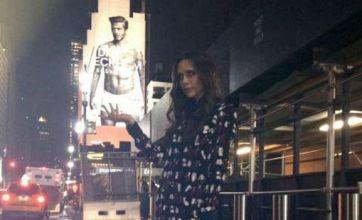 Victoria grabs holds of husband David Beckham's golden balls: Caption competition