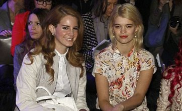 Lana Del Rey bags front row spot at Mulberry London Fashion Week show