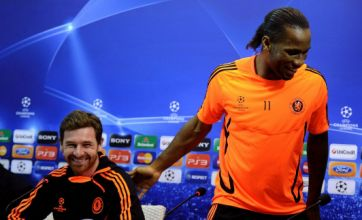 Didier Drogba: I gave the Chelsea lads a pep talk, not team talk