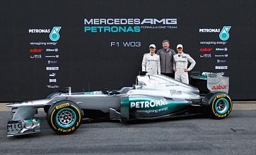 Michael Schumacher raring to go as Mercedes unveil new 2012 F1 car