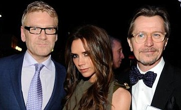 Victoria Beckham rubs shoulders with British film stars at pre-Oscars party
