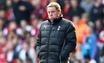 Spurs lost midfield battle to 'stronger' Arsenal, admits Harry Redknapp