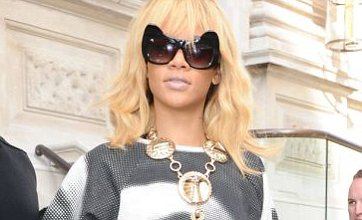 Rihanna wears Elizabeth Taylor top amid talk she plans 'to buy in London'