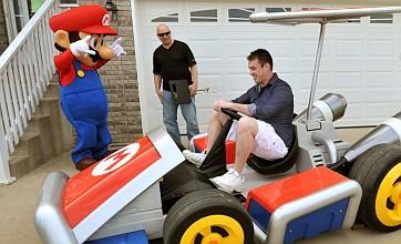 Nintendo fan wins full-size Mario kart by pre-ordering Mario Kart 7 on 3DS