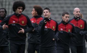 Eden Hazard's prank on Nacer Chadli delays Belgium's flight home