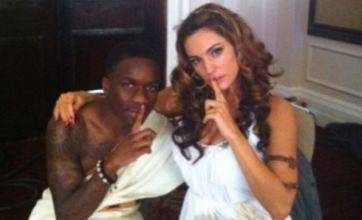 Kelly Brook and Tinchy Stryder toga it up for new Keith Lemon film
