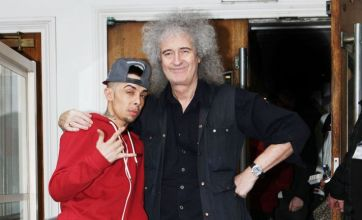 Dappy plans 'rock star sex theme party' if Brian May track tops charts