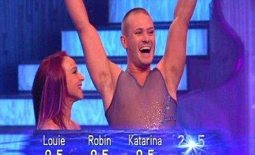 Matthew Wolfenden scores series high on Dancing On Ice