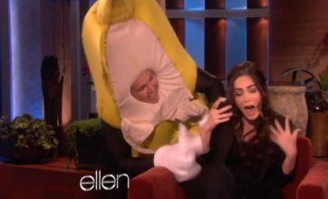 Megan Fox's fruity story reveals her secret past as a giant banana