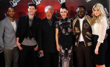 The Voice coaches: We'll back up our opinions, not like the X Factor judges
