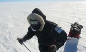 £100,000 rescue costs puts Pole ski adventurer's attempt in jeopardy