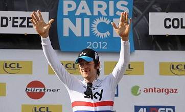 Cyclist Bradley Wiggins claims historic victory in Paris-Nice road race