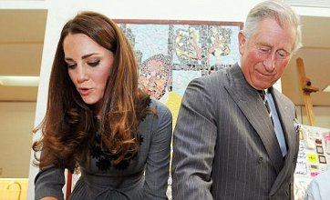 Duchess of Cambridge irons with Prince Charles: Caption competition