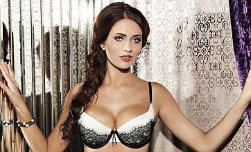 Amy Childs 'feels like royalty' as she models new Bra Queen range
