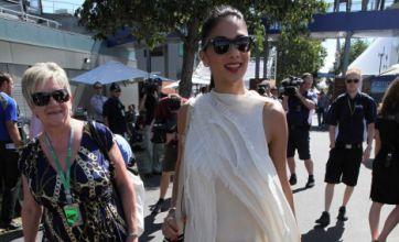 Nicole Scherzinger spends Mother's Day with Lewis Hamilton's mum at F1
