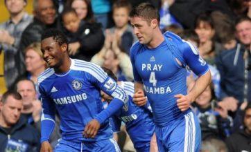 Gary Cahill and Steve Bruce lead prayers of hope for Fabrice Muamba