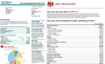 Budget 2012: Voters to get personal statement showing how tax was spent