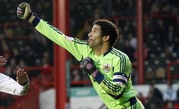 David James scores calamitous 'punch' own goal for Bristol City