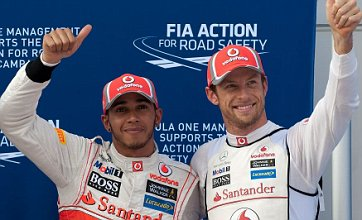 Lewis Hamilton beats Jenson Button to pole in McLaren 1-2 for Malaysian GP