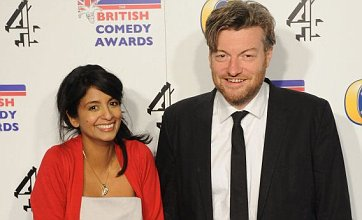 Konnie Huq and Charlie Brooker welcome baby son Covey