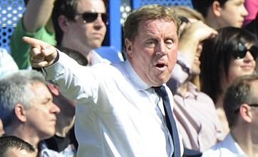 Bring it on, Arsene! Harry Redknapp fires message to Arsenal boss
