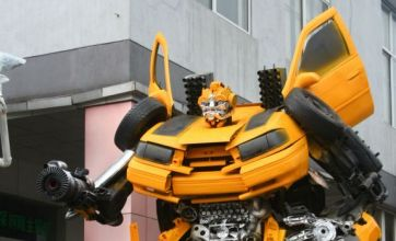 Transformers theme park featuring full-size replicas opens in China