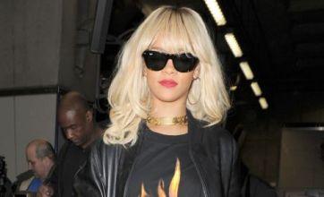 Rihanna takes the Tube to watch pal Drake play at London's O2 Arena