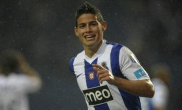 Manchester United in the race for Porto's James Rodriguez