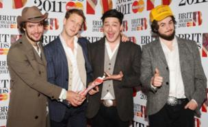 Mumford & Sons will play outdoor shows in Huddersfield and Galway (PA)