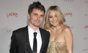 Matt Bellamy and Kate Hudson are in no rush to get married (Getty Images)