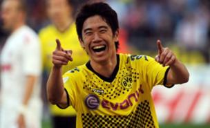 Shinji Kagawa has not heard from Arsenal or Chelsea (AFP/Getty Images)