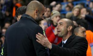 Roberto Di Matteo knows Pep Guardiola is favourite for the Chelsea job (PA)