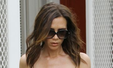 Victoria Beckham channels her inner domestic goddess as she celebrates Harper's first Easter