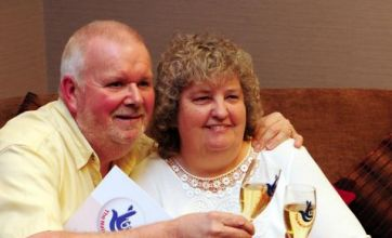 Lottery winner was convinced her husband was playing April fools' joke