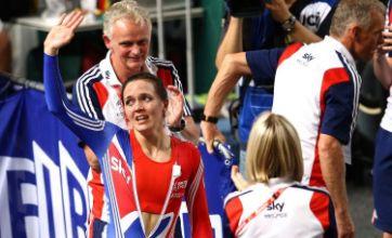 Victoria Pendleton shrugs off crash scare to win gold in Melbourne
