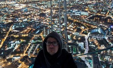 Shard trespassers climb 1,000ft to reach summit of London skyscraper