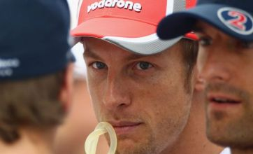 McLaren F1 driver Jenson Button admits he can be 'an arse' at times