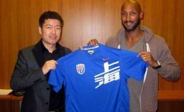 Nicolas Anelka becomes player-coach at Shanghai Shenhua